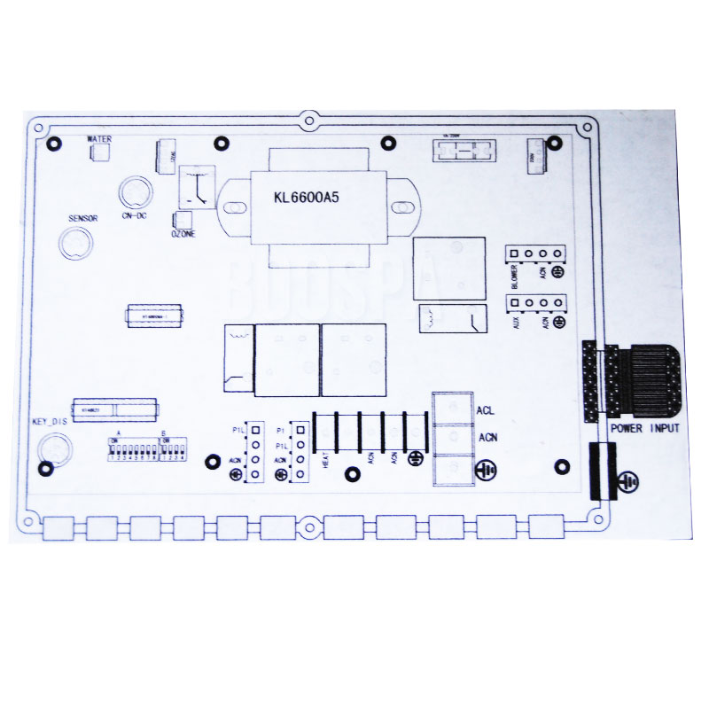 KL6600 Electronic Control Box for Spas