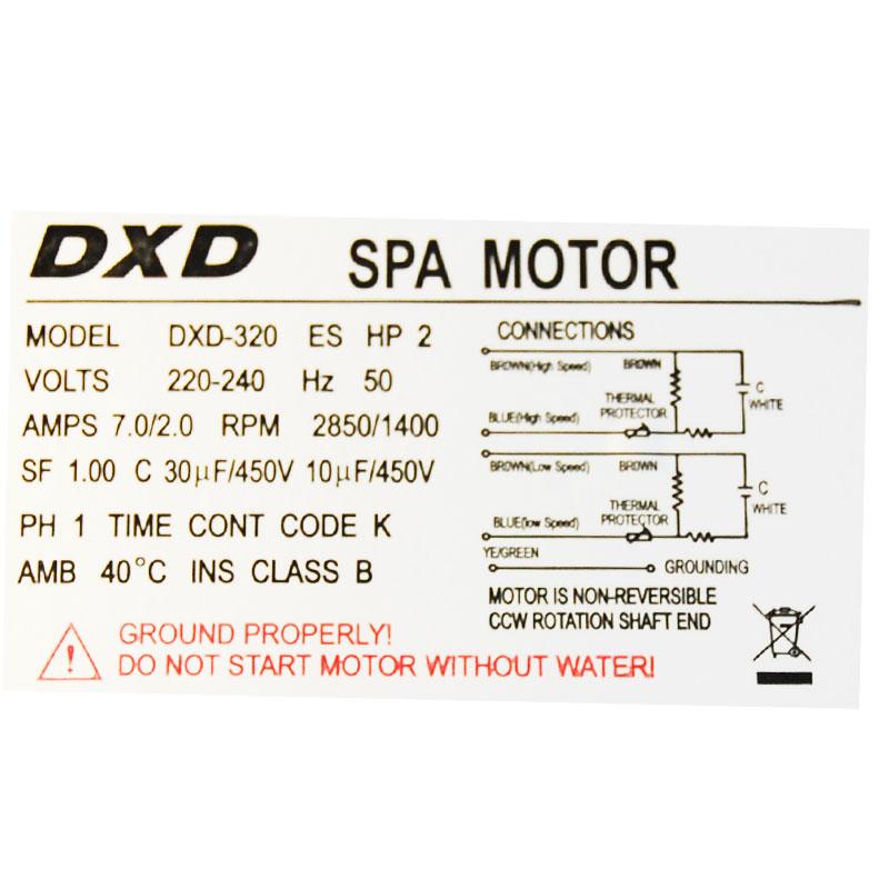Pompe de massage DXD-320-ES