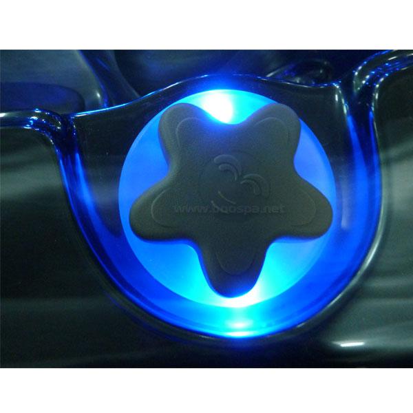 Jazzi Lotus 1.5'' Grey Diverter Valve LED