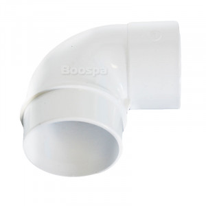 90° Reducer Elbow 2.5'' to 2'' M/F
