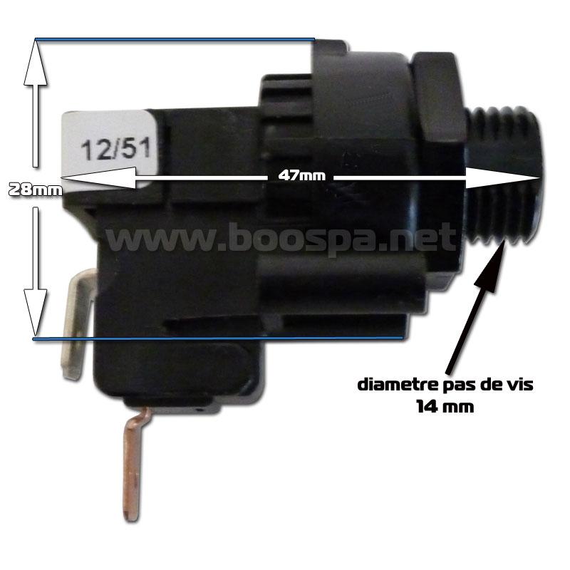 TBS123A Pneumatic Switch