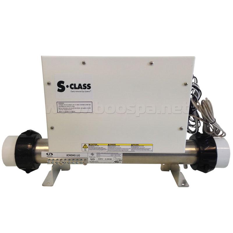 Boitier électronique + réchauffeur 2KW - SSPA