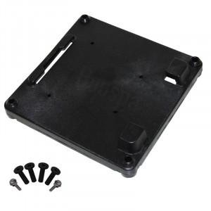 Universale anti-vibration plate for pump