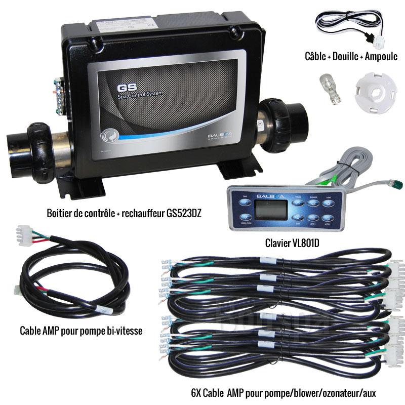 Retrofit kit VL801D + GS523DZ