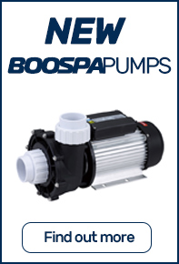 Boospa hot tub pumps