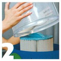 Nettoyeur de filtre spa ESTELLE
