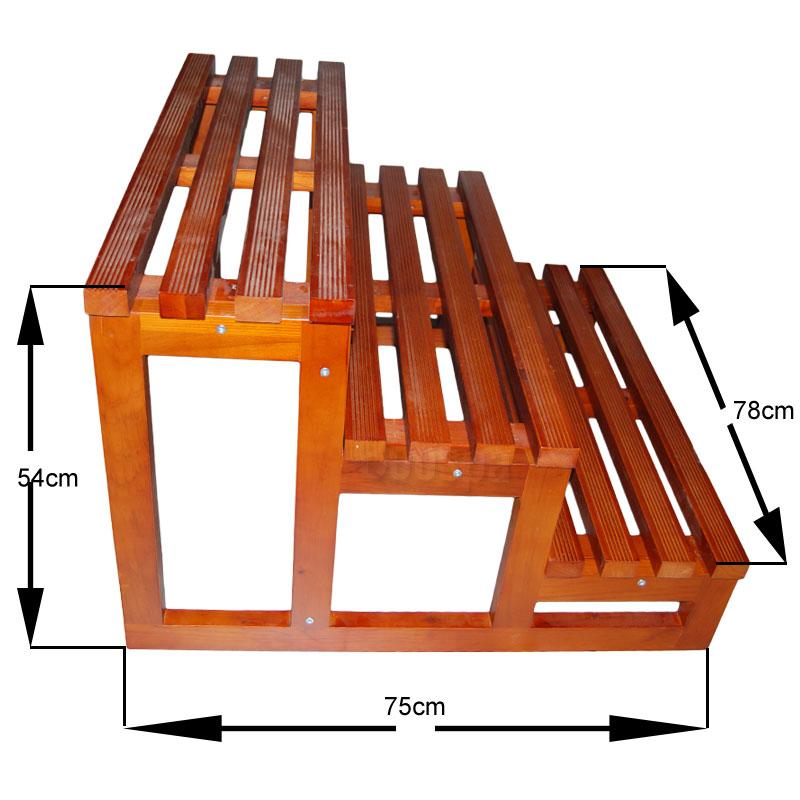 escalier 3 marches en bois pour spa de nage boospa. Black Bedroom Furniture Sets. Home Design Ideas