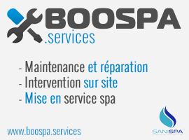 Boospa Services, intervention spa sur site