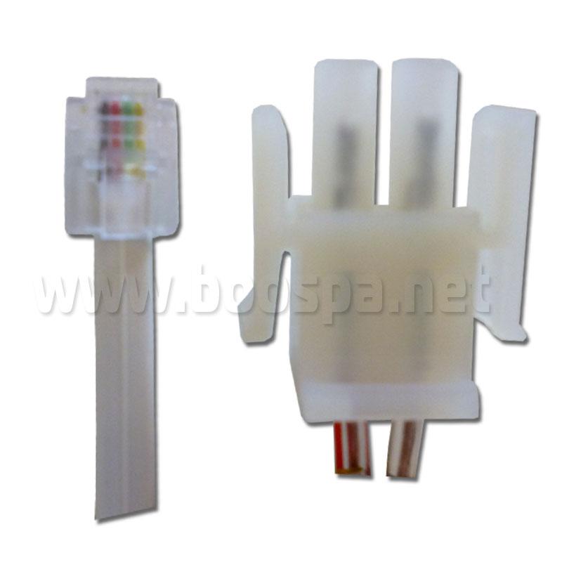 conectiques du boitier LED JAZZI