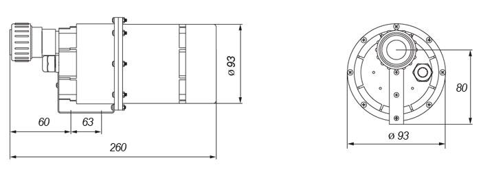 Dimensions DXD-6B