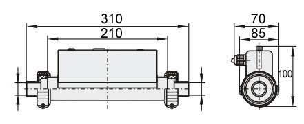 Dimension H220-H3000