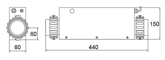 Dimensions SDP-3000