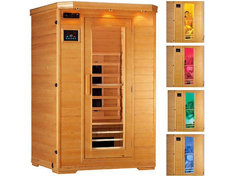 Chromotherapie sauna infrarouge