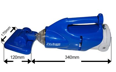 Aspirateur lectrique catfish pour spa boospa for Aspirateur electrique pour spa