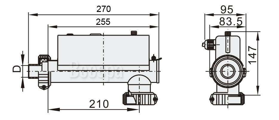 Dimensions H30-R2