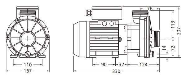 Dimensions HA460