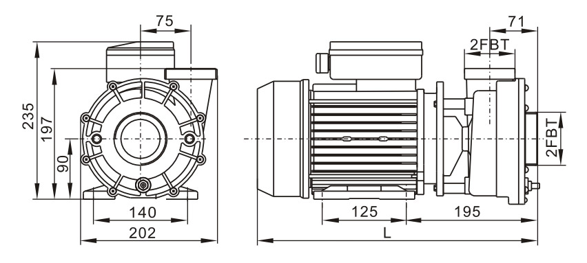 Dimensions WP300