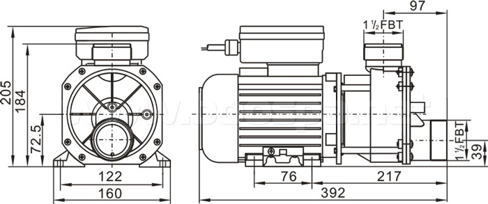 Pompe LX EA350 Boospa