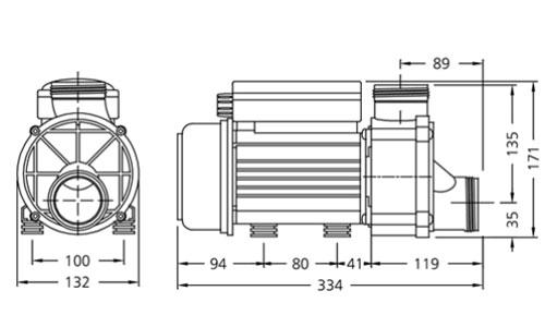 Dimensions HA350