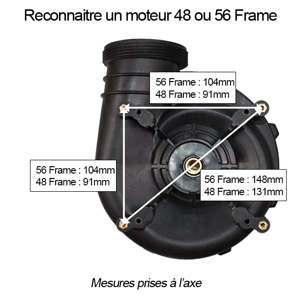 48 - 56 Frame moteur Executive Euro Waterway