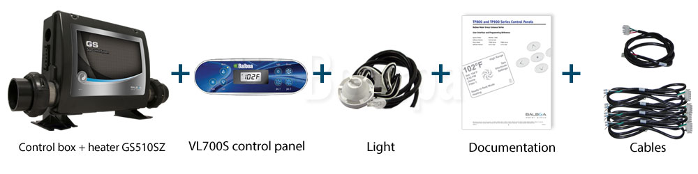 Retrofit Kit VL700S + GS510SZ Schema