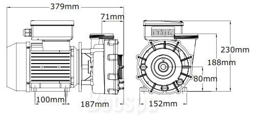 Dimensions Xp2e